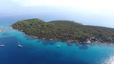 ISLAND IN KAVARNER BAY - CROATIA